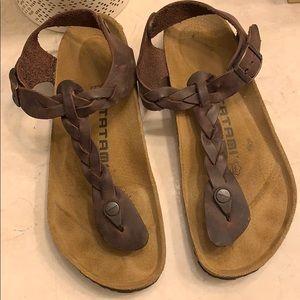 """Birkenstock """"Kairo"""" braided sandals"""